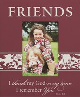 Friends, Philippians 1:3, Mini Photo Frame