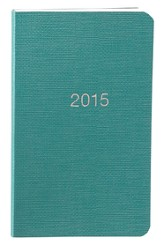 2015 Pocket Planner, Turquoise