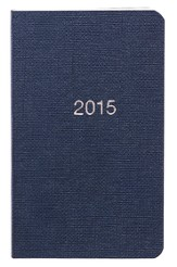 2015 Pocket Planner, Blue