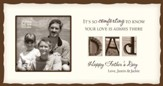 Personalized, Dad Photo, Cream