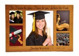 Personalized, Cherry Wood Graduation Photo, Large