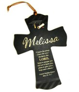 Personalized, Cross Ornament, Graduation