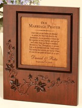 Personalized, Our Marriage Prayer Plaque