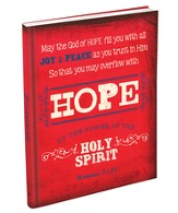 Hope, Retro Hardcover Journal