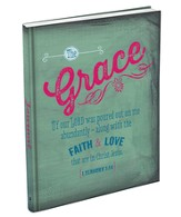 Grace, Retro Hardcover Journal