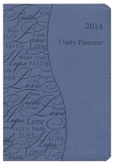 2014 Touchpoint Planner, Blue (Faith, Hope & Love)