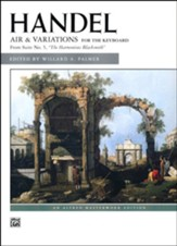 Air and Variations (Harmonious Blacksmith)