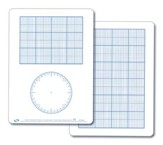 Graph Demonstration Dry Erase Board
