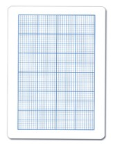 Graph Dry Erase Student Boards Class Set