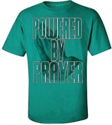 Powered By Prayer Shirt, Green, Small