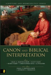 Canon and Biblical Interpretation - eBook