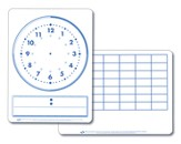 Time Demonstration Dry Erase Board