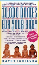 10,000 Names for Your Baby - eBook