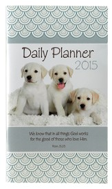 2015 Daily Pocket Planner, Puppies