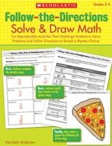 Follow-the-Directions: Solve & Draw Math (3-5)