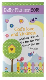 2015 Daily Pocket Planner, God's Love and Kindness