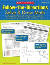 Follow-the-Directions: Solve & Draw Math (6-8)