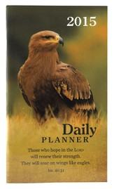 2015 Daily Pocket Planner, Wings Like Eagles