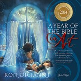 2014 Wall Calendar, Ron DiCianni, A Year Of the Bible In Art