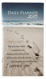 2015 Daily Pocket Planner, Footprints