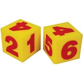 Giant Foam Number Dice