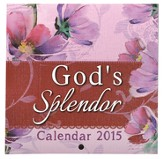 2015 Mini Wall Calendar, God's Splendor
