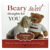 2015 Mini Wall Calendar, Beary Sweet