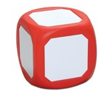 Magnetic Dry Erase Die (red)