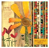 2015 Wall Calendar, Delightful Days