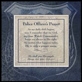 Police Officer's Prayer, Photo Frame