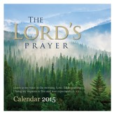 2015 Wall Calendar, The Lord's Prayer