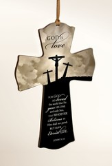 God Is Love Mini Cross