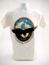 Wait Upon the Lord T-Shirt, Natural, Large (42-44)