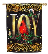 Joy Cardinal Flag, Large