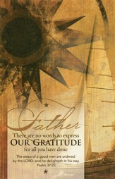 Our Gratitude (Father's Day), Bulletins, 100