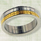 Faithful and True Purity Ring, Size 7