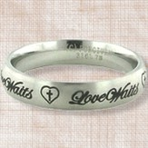 Love Waits Ring, Size 8