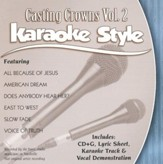 Casting Crowns, Volume 2, Karaoke Style CD