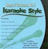 The Isaacs, Volume 2, Karaoke Style CD