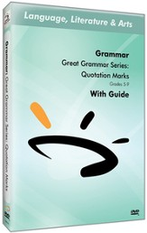 Great Grammar Series: Quotation Marks DVD & Guide
