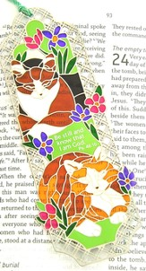 Suncatcher Bookmark and Magnet, Cats