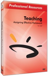 Assigning Effective Homework DVD