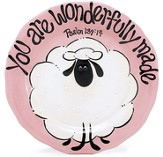 You are Wonderfully Made Plate, Pink