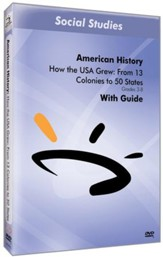 How the USA Grew: From 13 Colonies to 50 States DVD
