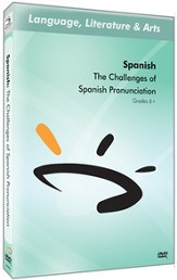 The Challenges of Spanish Pronunciation DVD