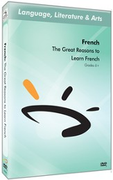 Great Reasons to Learn French DVD & Guide