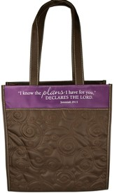 Quilted Tote, Jeremiah 29:11