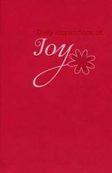 Daily Inspirations of Joy, Lux-Leather Devotional
