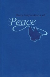 Daily Inspirations of Peace, Lux-Leather Devotional