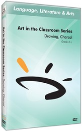 Art in The Classroom Series: Drawing, Charcoal DVD
